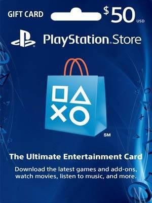 PSN CARD 50 USD