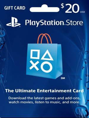 PSN CARD 20 USD