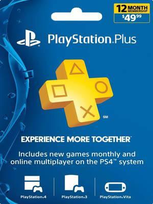 PSN PLUS USA 12 MESES