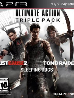 3 juegos en 1 Ultimate Action Triple Pack PS3