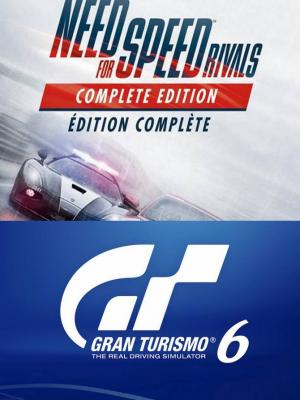 NEED FOR SPEED RIVALS COMPLETE EDITION + Gran Turismo 6 PS3