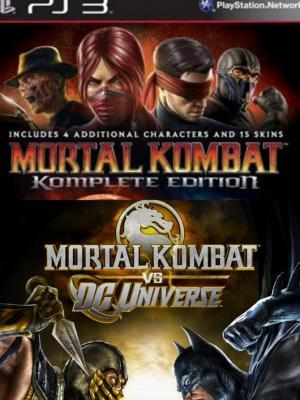 MORTAL KOMBAT KOMPLETE EDITION + MORTAL KOMBAT VS. DC UNIVERSE