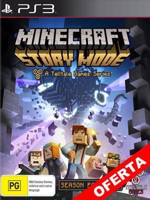 Minecraft Story Mode Ps3 Episodios del 1 al 5