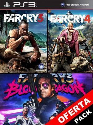 3 JUEGOS EN 1 Far Cry 3 Mas Far Cry 4 Mas Far Cry 3 Blood Dragon