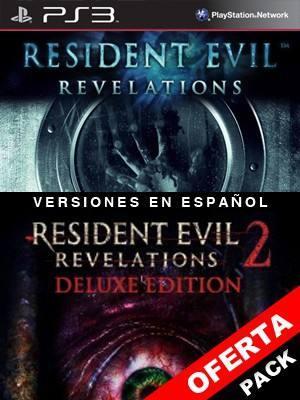 2 juegos en 1 Resident Evil Revelations Mas Resident Evil Revelations 2 Deluxe Edition