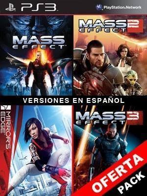Mass Effect Mas Mass Effect 2 Mas Mass Effect 3 Mas Mirrors Edge