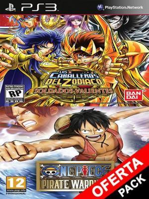 Saint Seiya Brave Soldiers Mas One Piece Pirate Warriors Ps3