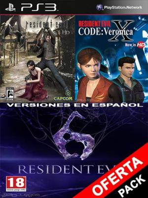 Resident Evil 4 Mas RESIDENT EVIL CODE Veronica X Mas RESIDENT EVIL 6