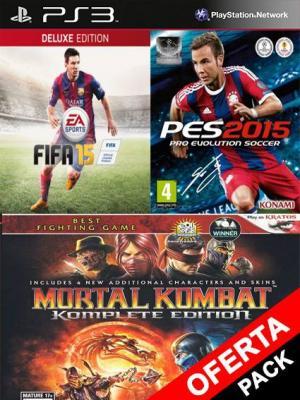 Fifa 15 Mas Pes 15 Mas Mortal Kombat Komplete Edition