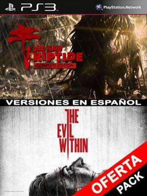 The Evil Within Mas Dead Island Riptide Complete Edition PS3