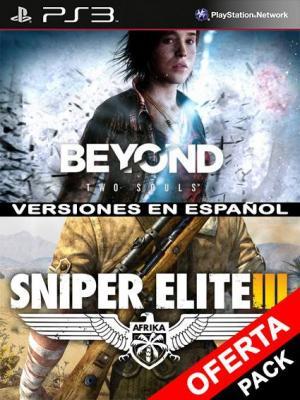 Sniper Elite 3 Mas BEYOND Dos almas PS3