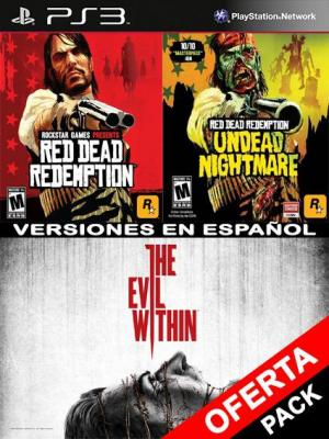 The Evil Within Mas Red Dead Redemption Mas Undead Nightmare Collection PS3