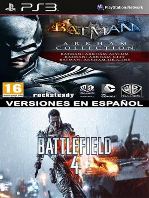 Batman Arkham Collection Mas Battlefield 4 PS3