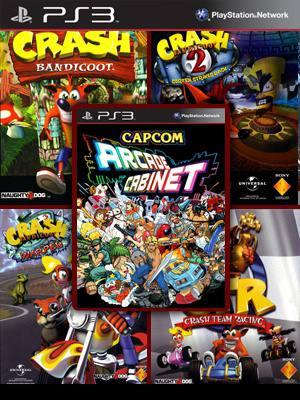 CRASH COLLECTION Mas CAPCOM ARCADE CABINET Pack PS3