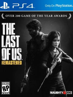 THE LAST OF US REMASTERED PS4 Para 2 Consolas