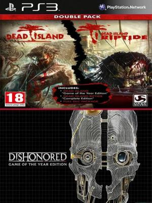 Dead Island Franchise Pack Mas Dishonored Game of the Year Edition PS3