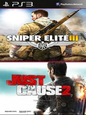 Just Cause 2 Ultimate Edition Mas Sniper Elite 3 PS3