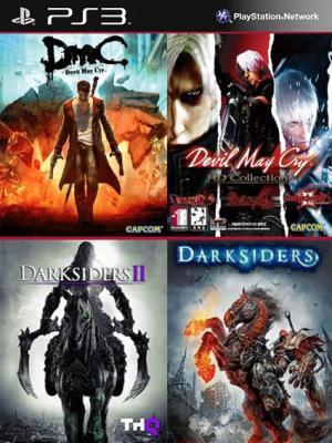 Darksiders Mas Darksiders II Mas DmC Devil May Cry Mas  Devil May Cry HD Collection PS3
