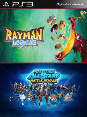 Rayman Legends Mas PlayStation All-Stars Battle Royale PS3
