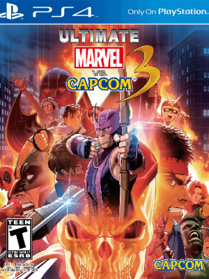 Ultimate Marvel vs. Capcom 3 Ps4 Primaria