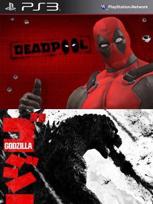 2 juegos en 1 Deadpool mas Godzilla PS3
