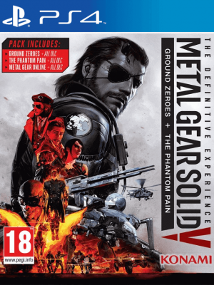 METAL GEAR SOLID V: THE DEFINITIVE EXPERIENCE PS4 PRIMARIA