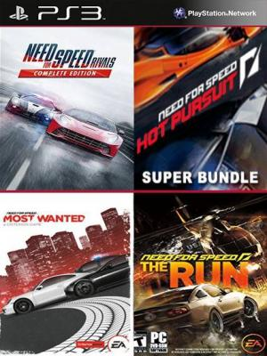 4 juegos en 1 Need for Speed Rivals: Edición Completa mas NFS Hot Pursuit Super Bundle mas Need for Speed Most Wanted mas  DE NEED FOR SPEED THE RUN