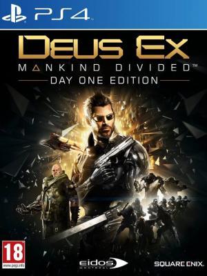 Deus Ex: Mankind Divided ps4 primaria