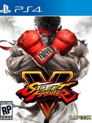 Street Fighter V ps4 primaria