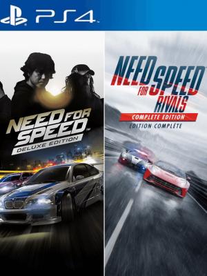 2 juegos en 1 Need for Speed Edition Deluxe PS4 PRIMARIA