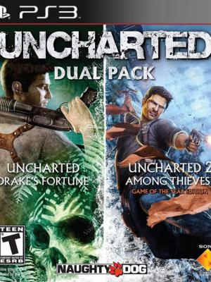 2 juegos en 1 UNCHARTED PS3