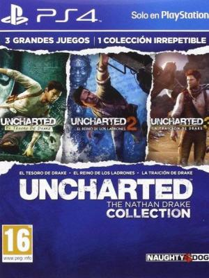 Uncharted The Nathan Drake Collection PS4 Primaria