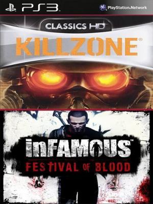 2 JUEGOS EN 1 Killzone HD Mas inFAMOUS Festival of Blood PS3