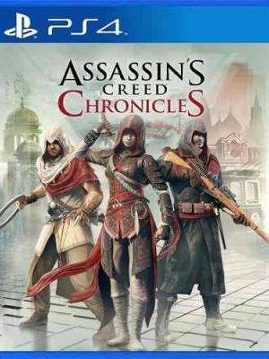 Assassin's Creed Chronicles Trilogy Ps4 Primaria