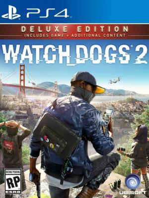 Watch Dogs 2  Edición Deluxe Ps4 Primaria