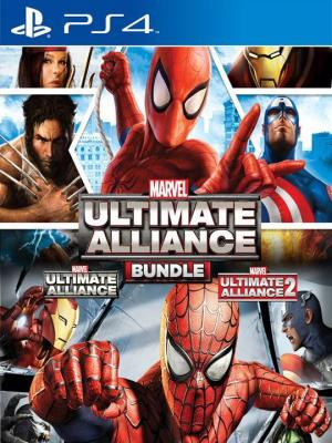 Marvel: Ultimate Alliance Bundle Ps4 Primaria