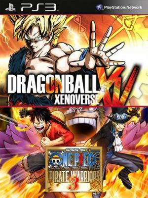 2 juegos en 1 DRAGON BALL XENOVERSE mas One Piece Pirate Warriors 3 Pa3