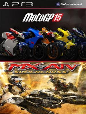2 juegos en 1 MotoGP 15 MX vs ATV Supercross Ps3