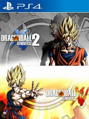 2 juegos en 1 Dragon Ball Xenoverse 1 and 2 Bundle Ps4 Primaria
