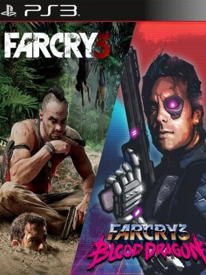 2 juegos en 1 Far Cry 3 mas Far Cry 3 Blood Dragon Ps3