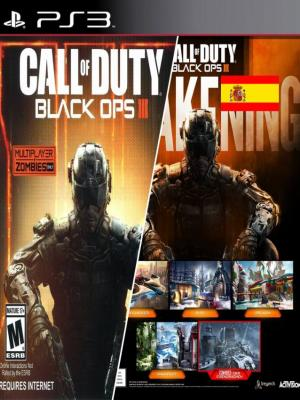 Call of Duty Black Ops III mas Awakening DLC  en Español Ps3