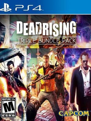 3 juegos en 1 Dead Rising Triple Pack PS4 PRIMARIA