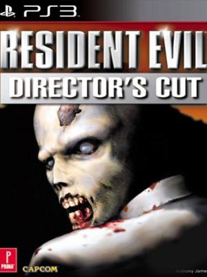 RESIDENT EVIL DIRECTOR'S CUT PS3