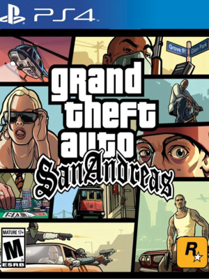 Grand Theft Auto(GTA): San Andreas PS4
