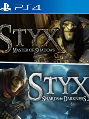 2 juegos en 1 Styx: Master of Shadows + Styx: Shards of Darkness ps4 primaria