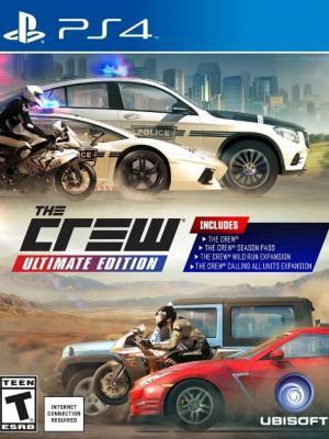 The Crew Ultimate Edition  Ps4 Primaria