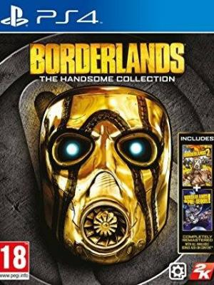 2 JUEGOS EN 1 BORDERLANDS: THE HANDSOME COLLECTION PS4 PRIMARIA