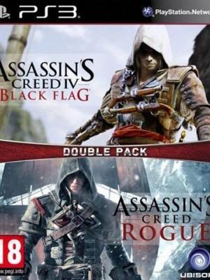 2 JUEGOS EN  1 Assassin's Creed Naval Edition PS3