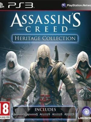 5 JUEGOS EN 1 Assassin's Creed Heritage Collection PS3
