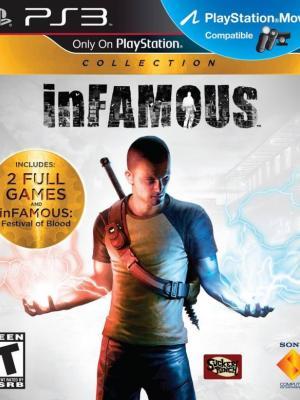 3 juegos en 1 Colección inFAMOUS PS3